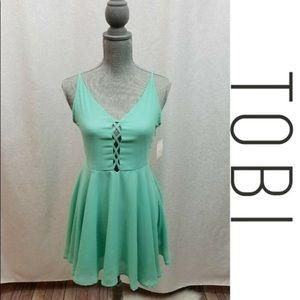 Turquoise Tobi dress never worn